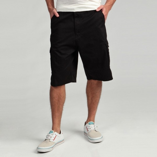 Burnside Men's Black Cargo Shorts - Free Shipping On Orders Over ...