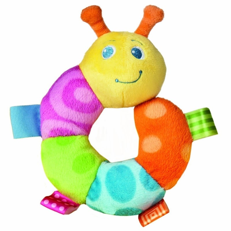 Mary Meyer Taggies Colours Caterpillar Rattle