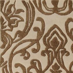 Candice Olson Hand-tufted Cream Heracles Damask Floral Wool Rug (3'3 x 5'3)