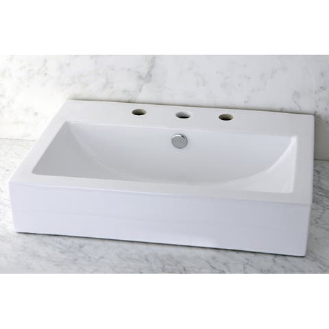 Buy White Vessel Bathroom Sinks Online At Overstock Our
