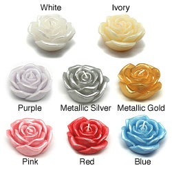 3-inch Rose Floating Candles (Box of 12) (More options available)
