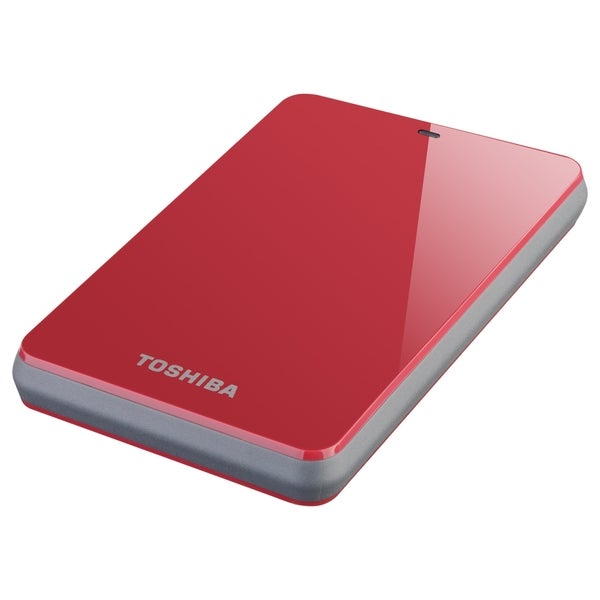 "Toshiba Canvio HDTC610XR3B1 1 TB 2.5"" External Hard Drive"