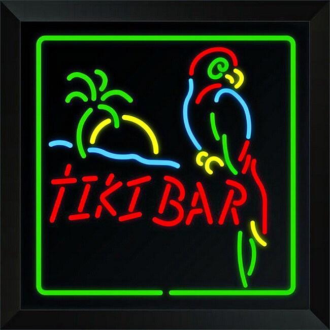 Trans Globe Lighting LED Tiki Bar Sign Wall Light