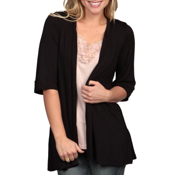 24/7 Comfort Apparel Women's Open Shrug. Opens flyout.