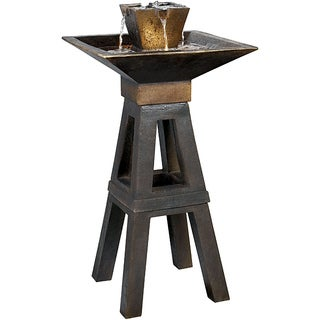 Durius Outdoor Floor Fountain (Option: Durius Floor Fountain)