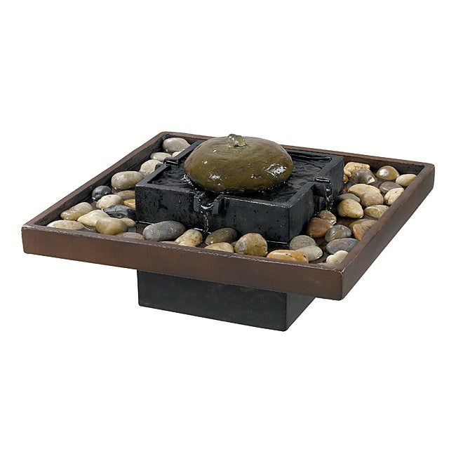 Khnum Indoor Table Fountain - Free Shipping Today - Overstock.com ...