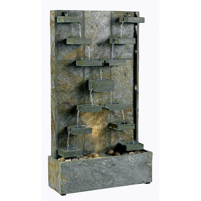Thaumas Floor Fountain Free Shipping Today Overstock