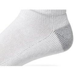 Champion Men's Big/ Tall 'Performance' White Low-cut Socks (6 Pairs) - Thumbnail 2