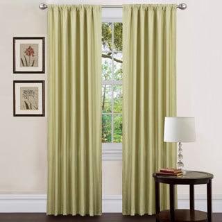 Lush Decor Celery 84-inch Luis Curtain Panels (Set of 2)