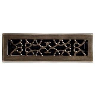 Victorian Antique Brass Floor Register
