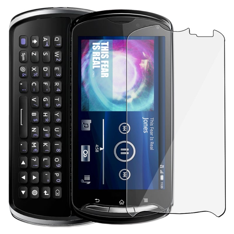 Screen Protector for Sony Ericsson Xperia Pro Cell Phones