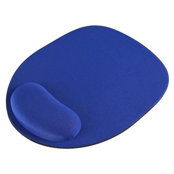 INSTEN Blue Wrist Comfort Mousepad for Optical/ Trackball Mouse