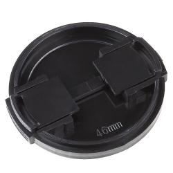 INSTEN Universal 46mm Black Camera Lens Cap