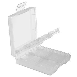 Insten White 16-in-1 Game Card Case for Nintendo DS Lite