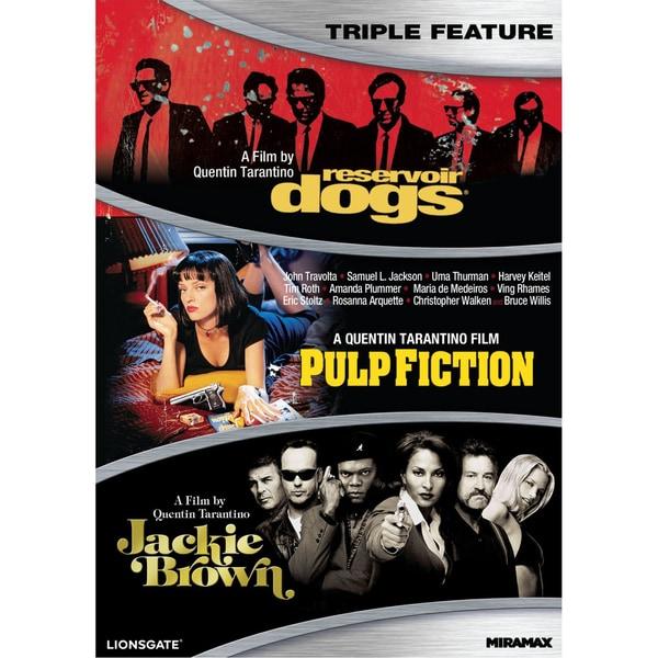 Quentin Tarantino Triple Feature (DVD)