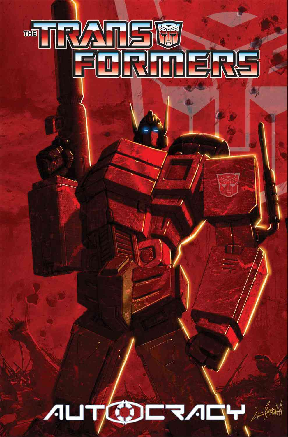 The Transformers: Autocracy (Paperback) - Thumbnail 0