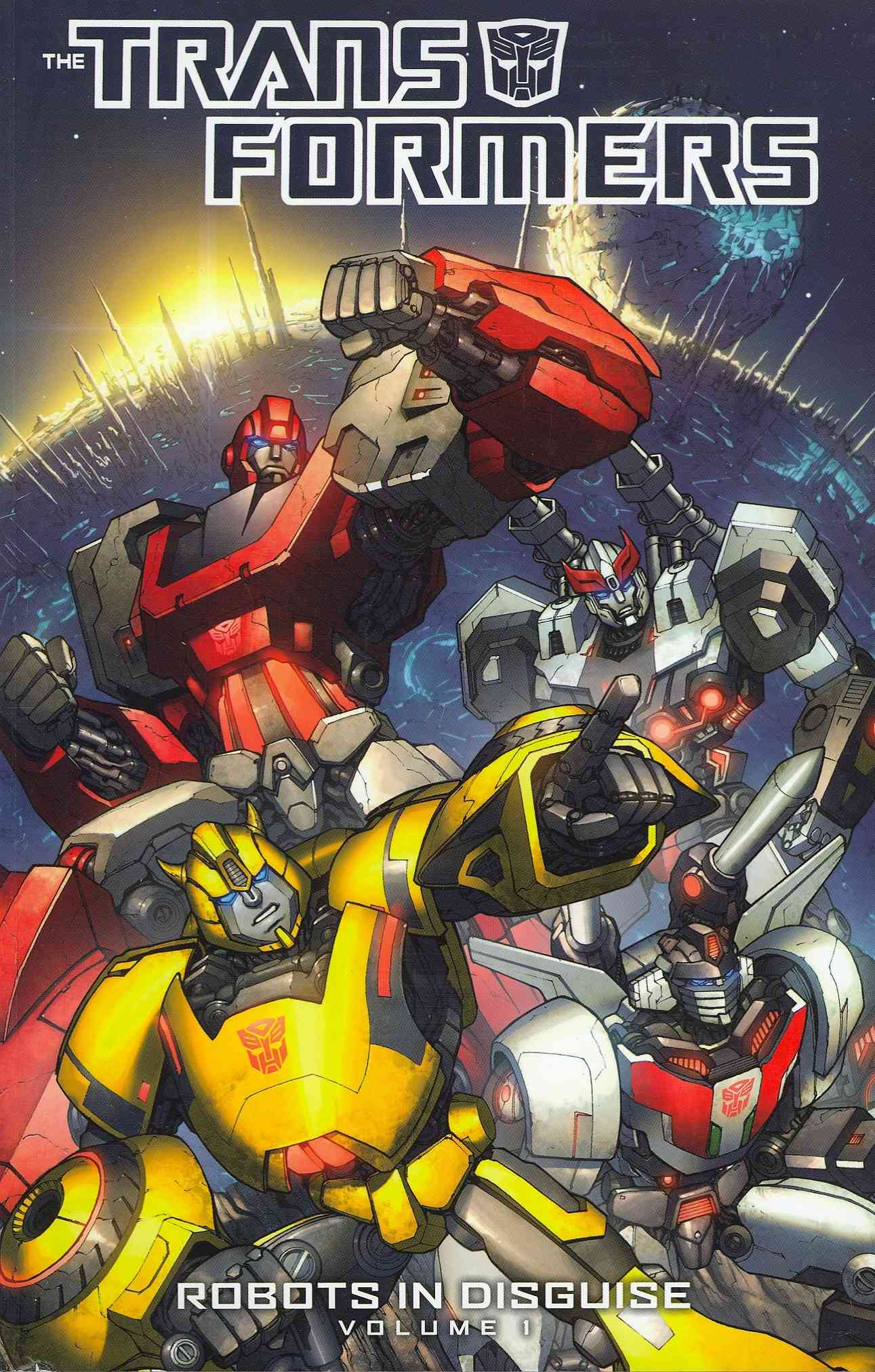 The Transformers 1: Robots in Disguise (Paperback)