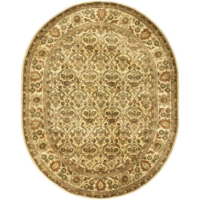 Safavieh Handmade Treasured Gold Wool Rug - 7'6 x 9'6 Oval