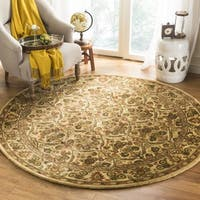 "Safavieh Handmade Treasured Gold Wool Rug - 3'6"" x 3'6"" round"