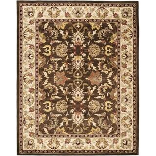 Safavieh Handmade Heritage Timeless Traditional Brown/ Beige Wool Rug (8'3 x 11')