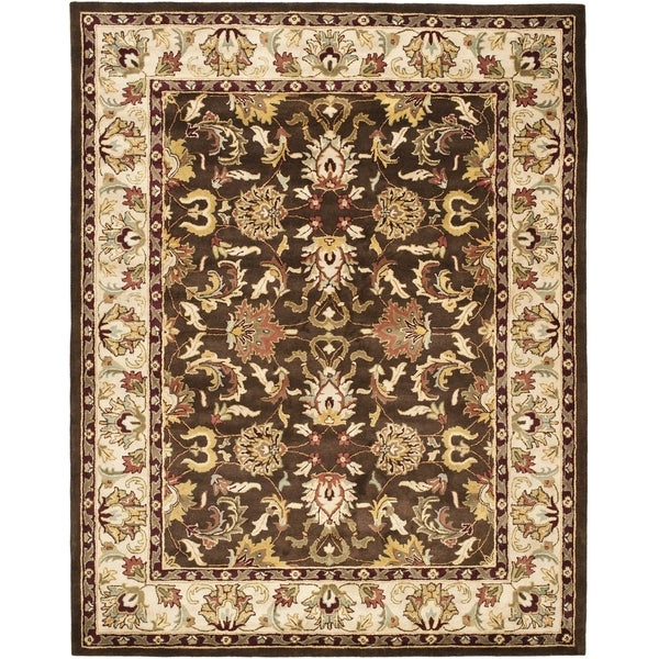 Safavieh Handmade Heritage Timeless Traditional Brown/ Beige Wool Rug (8'3 x 11')