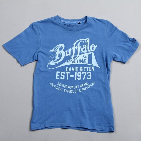 Buffalo by David Bitton Big Boy's (8-20) Sparrow Graphic Buffalo Shirt