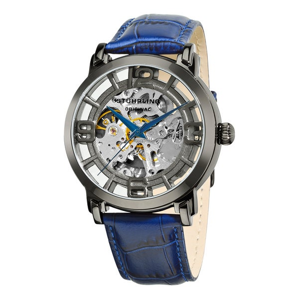 Stuhrling Original Men S Winchester 44 Skeleton Automatic