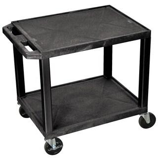 H.Wilson 26-inch Black Plastic Multi-purpose Cart