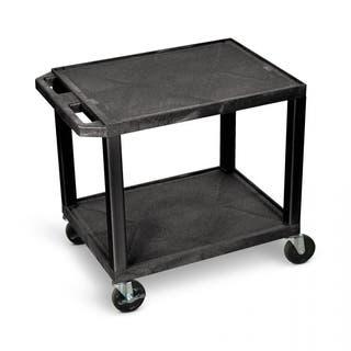 H.Wilson 26-inch Black Plastic Multi-purpose Cart https://ak1.ostkcdn.com/images/products/6539507/H.Wilson-26-inch-Black-Plastic-Multi-purpose-Cart-P14121734.jpg?impolicy=medium