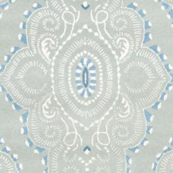 Safavieh Handmade Chatham Mystic Blue New Zealand Wool Rug (8' x 10')
