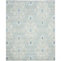 Safavieh Handmade Chatham Mystic Blue New Zealand Wool Rug (8' x 10')