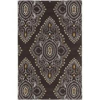 Safavieh Handmade Chatham Mystic Brown New Zealand Wool Rug - 5' x 8'