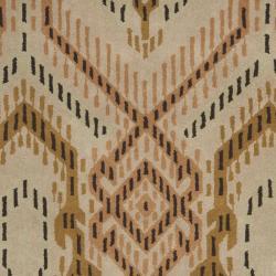 Safavieh Handmade Chatham Journey Brown New Zealand Wool Rug (4' x 6') - Thumbnail 2