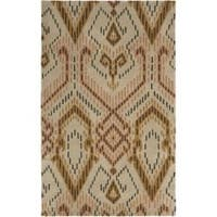 Safavieh Handmade Chatham Journey Brown New Zealand Wool Rug (5' x 8') - 5' x 8'