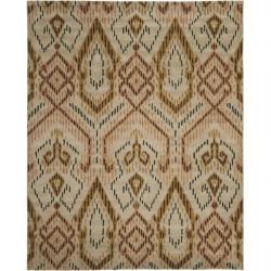 Safavieh Handmade Chatham Journey Brown New Zealand Wool Rug - 8' x 10' - Thumbnail 0