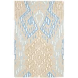 Safavieh Handmade Chatham Journey Beige New Zealand Wool Rug (2'6 x 4')