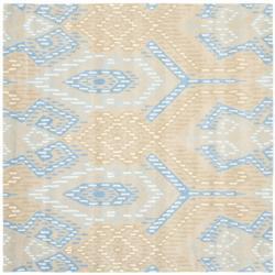 Safavieh Handmade Chatham Journey Beige New Zealand Wool Rug (7' Square)