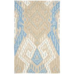 Safavieh Handmade Chatham Journey Blue New Zealand Wool Rug (2'6 x 4')