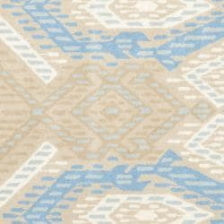 Safavieh Handmade Chatham Journey Blue New Zealand Wool Rug (7' Square)