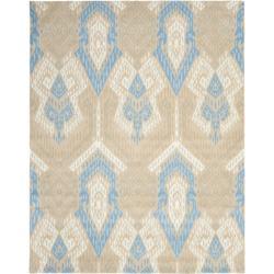 Safavieh Handmade Chatham Journey Blue New Zealand Wool Rug - 8' x 10' - Thumbnail 0