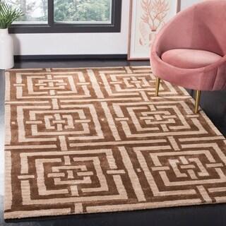 Safavieh Handmade Wyndham Zeke Modern Wool Rug