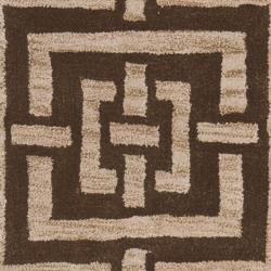 Safavieh Handmade Chatham Basketweave Brown New Zealand Wool Rug (2'3 x 9')
