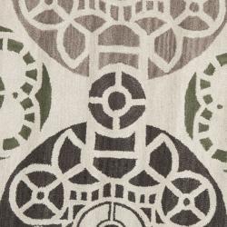 Safavieh Handmade Chatham Treasures Ivory New Zealand Wool Rug (7' Round)