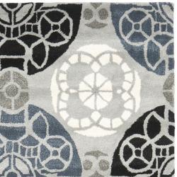 Safavieh Handmade Chatham Treasures Grey New Zealand Wool Rug (4' x 6') - Thumbnail 1