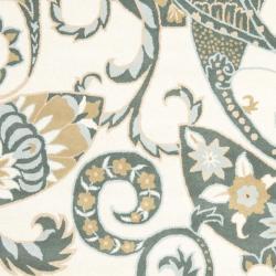 Safavieh Handmade Chatham Gardens Ivory New Zealand Wool Rug (8' x 10')