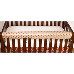 Cotton Tale Raspberry Dot Crib Rail Guard