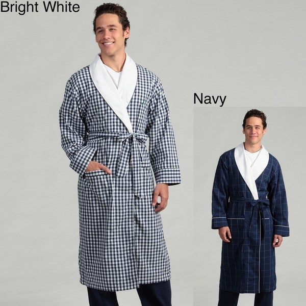 Nautica Men's Checkered Robe