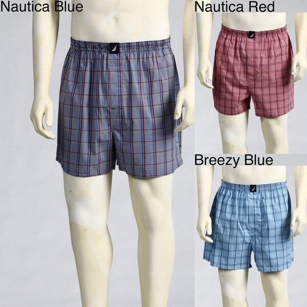 Nautica Men's Woven Boxers