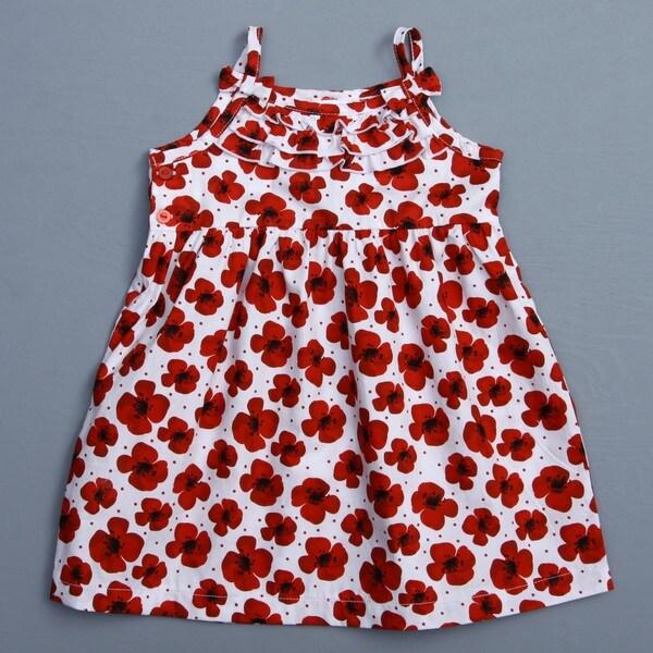 Absorba Toddler Girl's Floral Woven Dress