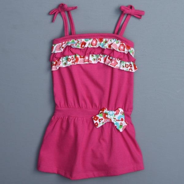 Absorba Toddler Girl's Fuchsia 2-piece Dress Set